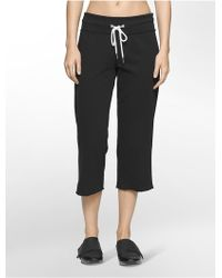 CALVIN KLEIN 205W39NYC - Performance Cropped Sweatpants - Lyst