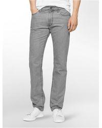 CALVIN KLEIN 205W39NYC - Jeans Slim Fit 5-pocket Twill Pants - Lyst