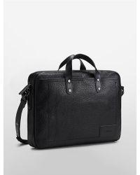 CALVIN KLEIN 205W39NYC - Bond Slim Commuter Bag - Lyst