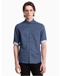 CALVIN KLEIN 205W39NYC - Classic Fit Half Dot Roll-up Shirt - Lyst