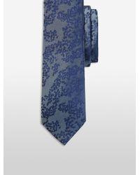 CALVIN KLEIN 205W39NYC - Steel Tonal Bouquet Tie - Lyst