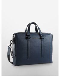 CALVIN KLEIN 205W39NYC - Daniel Double Zip Commuter Bag - Lyst
