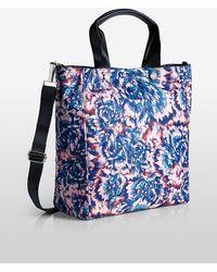 Lyst - Calvin Klein Athletic Jetlink Leather Tote Bag in Black 289df8e519380