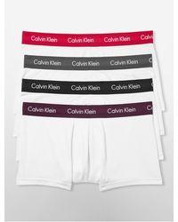 CALVIN KLEIN 205W39NYC - Underwear Cotton Stretch 4-pack Low Rise Trunk - Lyst