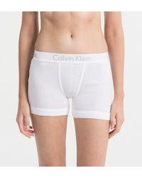 Calvin Klein Boyshorts - Body - White