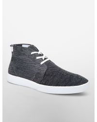 CALVIN KLEIN 205W39NYC - Indio Knit High Top Sneaker - Lyst