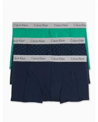 CALVIN KLEIN 205W39NYC - Elements Cotton Stretch 3-pack Trunk - Lyst