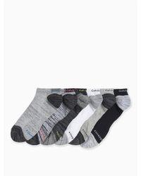 Calvin Klein - 6-pack Performance Logo Socks - Lyst