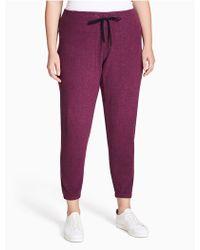 CALVIN KLEIN 205W39NYC - Plus Size Performance Skinny Sweatpants - Lyst