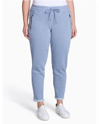 CALVIN KLEIN 205W39NYC - Plus Size Performance Zip Pocket Pants - Lyst