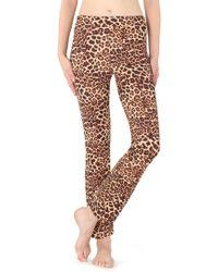 ef225c23002b Calzedonia Animal Print leggings in Gray - Lyst
