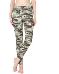 Calzedonia - Push-up Camouflage Jeans - Lyst