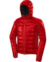Canada Goose montebello parka online shop - Play comme des gar?ons Zip Up Cotton Hoodie With Red Emblem in ...