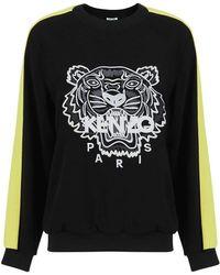 KENZO - Embroidered Tiger Sweatshirt - Lyst