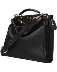 Fendi - Handbags Peekaboo Men Black - Lyst