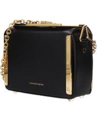 90ee4cc656c9 Alexander McQueen - Crossbody Bag Seta Lux Women Black - Lyst