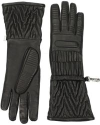 Prada - Gloves Women Black - Lyst