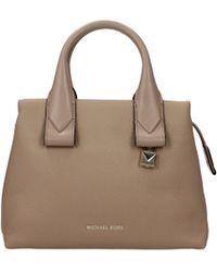 21ca1d2c2d2 Michael Kors - Handbags Sm Satchel Women Beige - Lyst