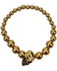 Alexander McQueen - Bracelets Men Gold - Lyst