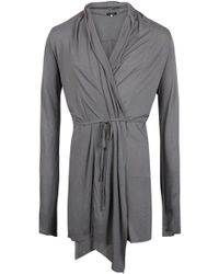 Unconditional Belted Long Drape Cardigan