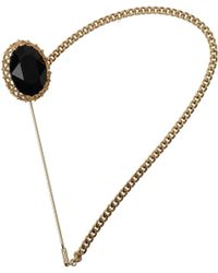 Dolce & Gabbana Gift Ideas Brooch Women Black