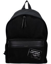 Saint Laurent - Backpack And Bumbags Men Black - Lyst