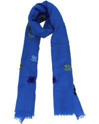 Altea - Scarves Women Blue - Lyst