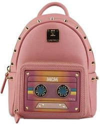 MCM - Stark Bebe Boo X-mini Backpack In Cassette - Lyst