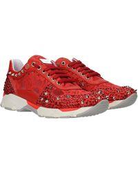 Philipp Plein - Sneakers Broken Bridge Women Red - Lyst