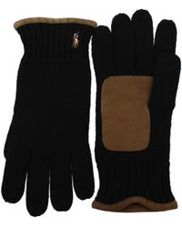 Fred Perry - Gloves Men Black - Lyst