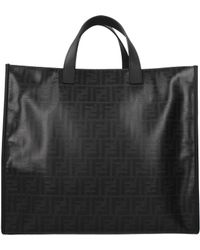 Fendi - Handbags Tote Tess Men Black - Lyst