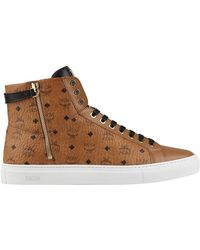 MCM - Lace-up Turn Lock Trainers - Lyst
