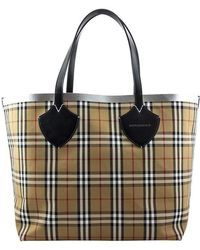 825c7d472404 Burberry - The Giant Reversible Tote In Vintage Check - Lyst