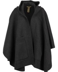 Burberry - Carla Cape Charcoal - Lyst