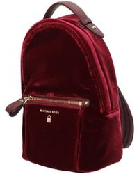 d180a0f78cdd Michael Kors Michael Nylon Kelsey Signature Backpack in Black - Lyst