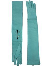 Prada - Gloves Women Green - Lyst