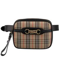 Burberry - The 1983 Check Link Bum Bag - Lyst