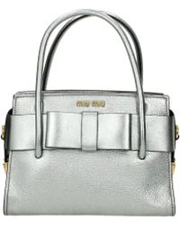 Miu Miu Handbags Women Silver