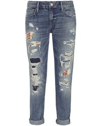 Denim & Supply Ralph Lauren Skinny Barstow Boyfriend Jeans - Lyst
