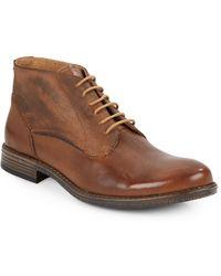 Steve Madden Garisonn Leather Chukka Boots - Lyst