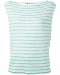 T By Alexander Wang Boat-Neck Top - Lyst