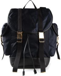 Neil Barrett Bicolour Back Packs - Lyst