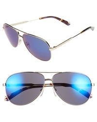 Marc By Marc Jacobs 60Mm Aviator Sunglasses - Lyst