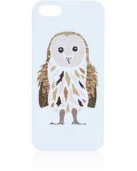Topshop Owl Iphone 5 Case - Lyst