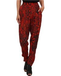 Vivienne Westwood Anglomania Void Trousers - Lyst