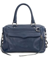 Rebecca Minkoff Mab Mini Leather Satchel - Lyst