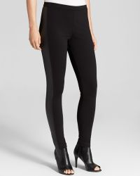 Two By Vince Camuto - Faux Leather Panel Leggings - Lyst