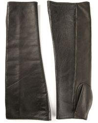 Jil Sander Fingerless Gloves - Lyst