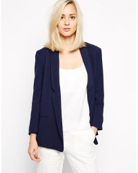 French connection Classic Crepe Connie Jacket - Lyst