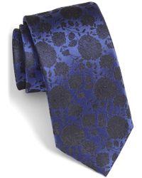 Bugatchi - Floral Silk Tie - Lyst